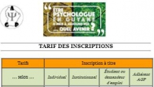 Inscriptions colloque 30 ans